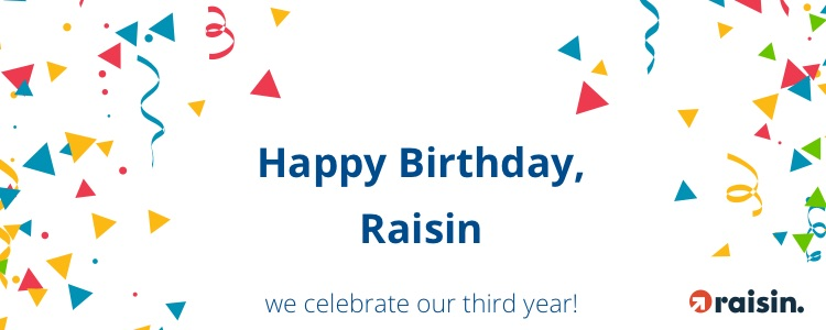Raisin reaches record of EUR 2 bn invested