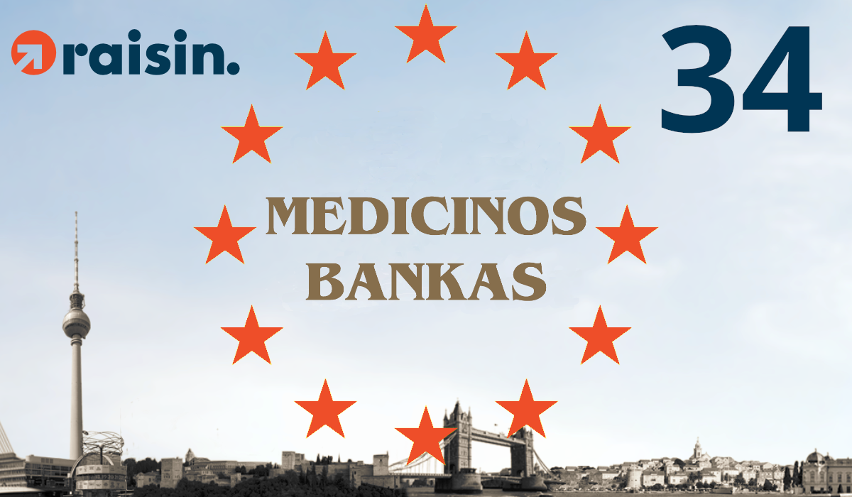 Partner Bank Number 34: Medicinos Bankas