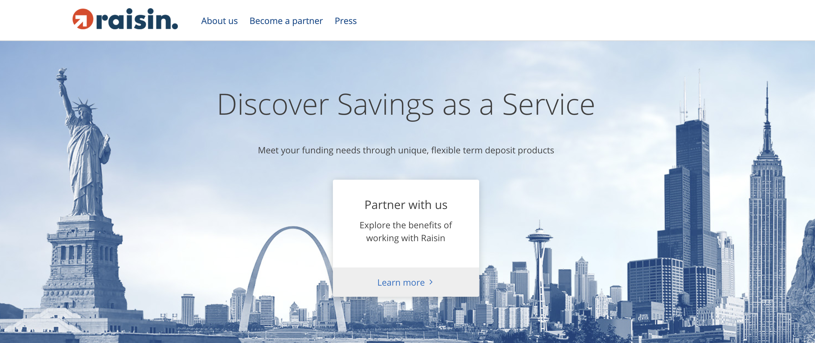 Fintech Raisin launches Savings as a Service software for U.S. banks and credit unions