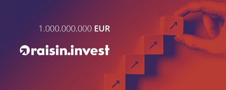 Raisin crosses billion euro threshold in ETF investments